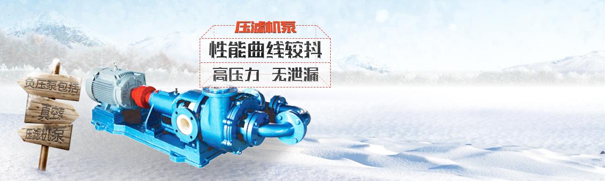 压滤机泵专题