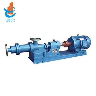 1-1B型螺桿泵(濃漿泵)