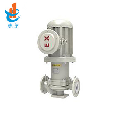 HCLF無泄漏襯氟磁力管道泵