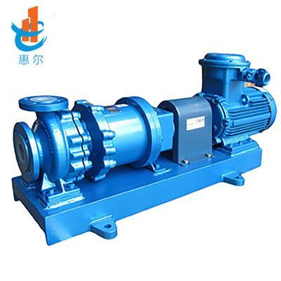 HCGF衬氟耐高温耐颗粒磁力泵