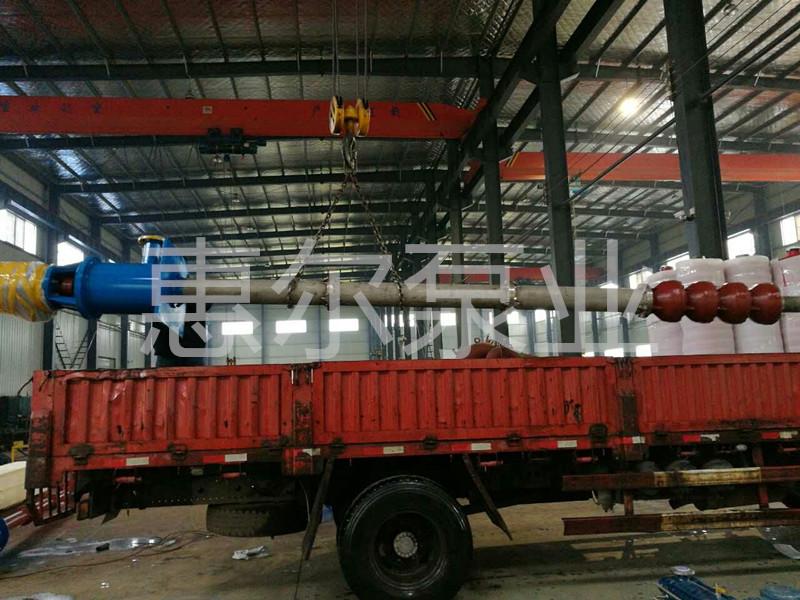 HLC立式长轴多级液下泵发货照片
