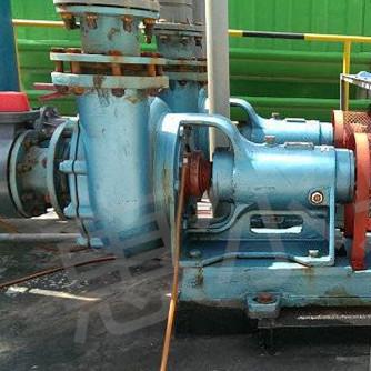 耐腐耐磨砂漿泵用于冶煉廠壓濾機配套