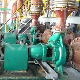 不锈钢化工泵用于冶炼厂腐蚀性液体输送