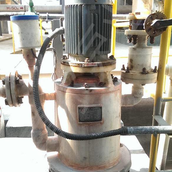 无密封自吸泵用于化工厂污水输送