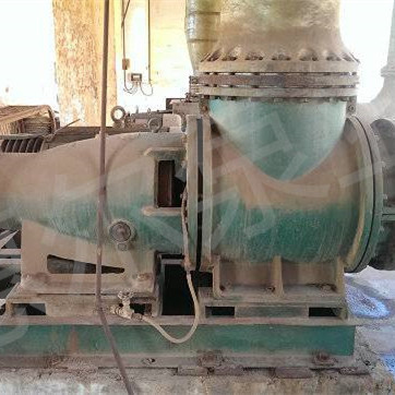 衬氟强制循环泵用于钛白粉行业废酸浓缩