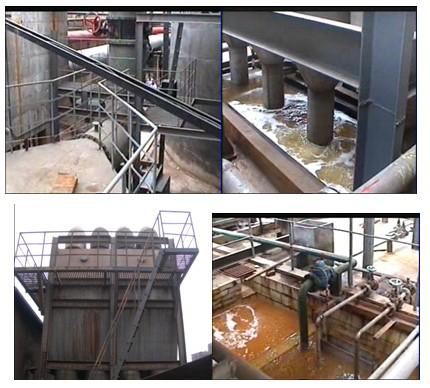 脱硫工程部分用户介绍—最早应用的用户-湖南某冶炼厂
