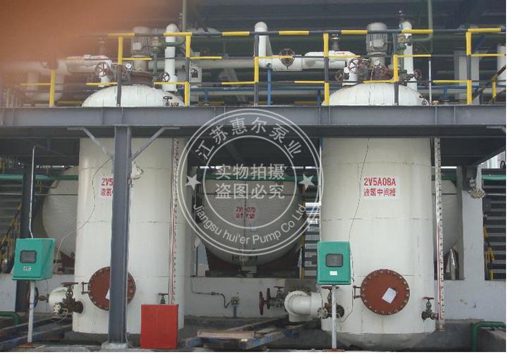 双壳无泄漏液氯磁力泵现场应用照片