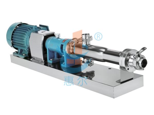 G型卫生级螺杆泵