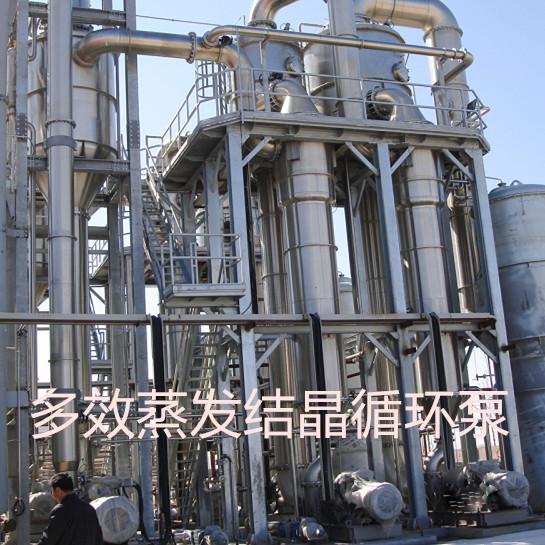 多效蒸发循环冷却结晶项目用泵
