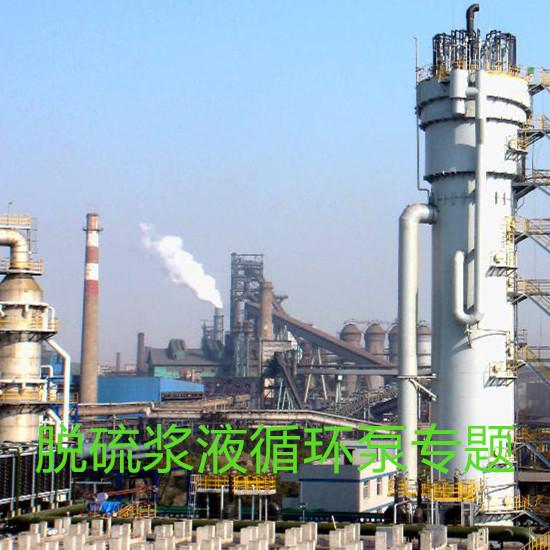 脱硫浆液循环系统用泵