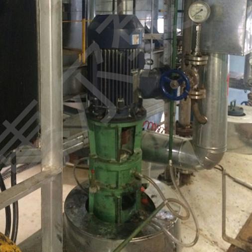 高温液下泵用于中石化280°二氯苯和三氯苯等有机溶剂