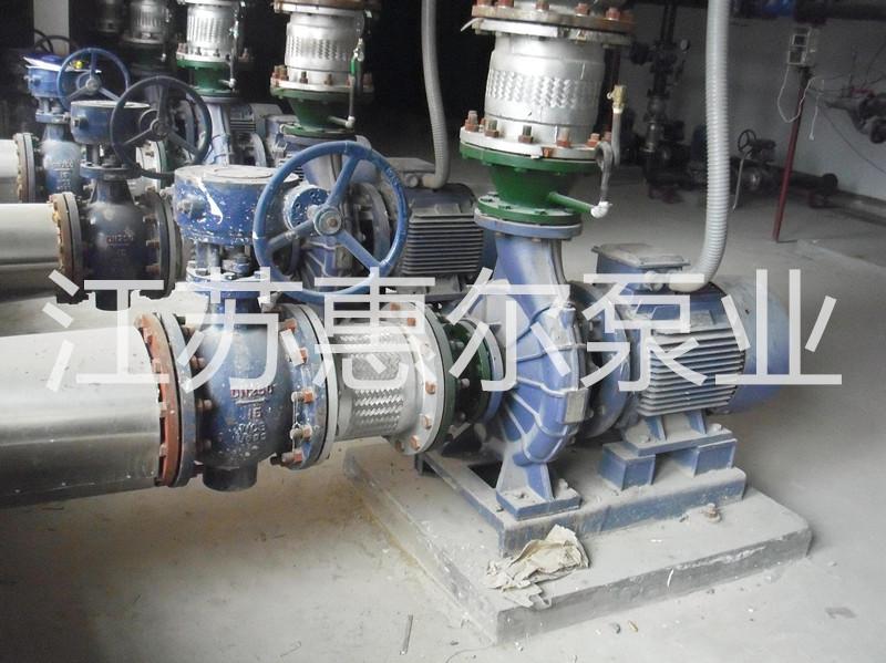 直连式化工离心泵在化工厂应用现场
