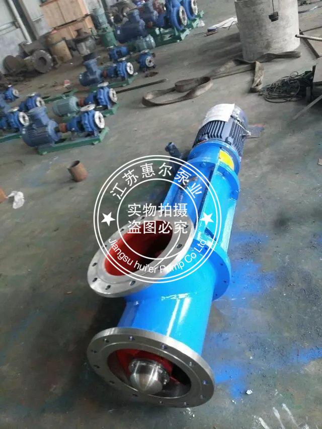 三通式悬挂强制循环泵照片