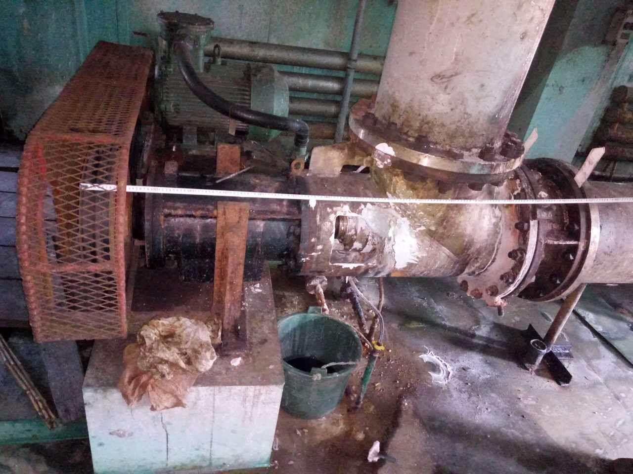 904轴流泵使用三年后照片