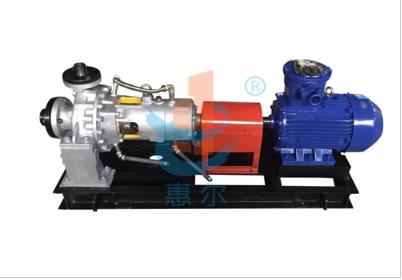 ZE型精馏一循环泵,用于泰兴某环保科技有限公司