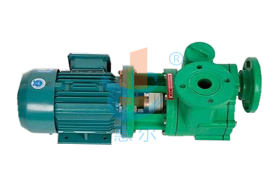 FPZ型增强聚丙烯耐腐蚀自吸泵,用于南昌某环保科技公司